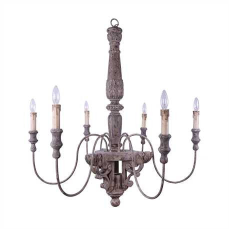 Farmhouse Chandelier - Out of the Woodwork Designs