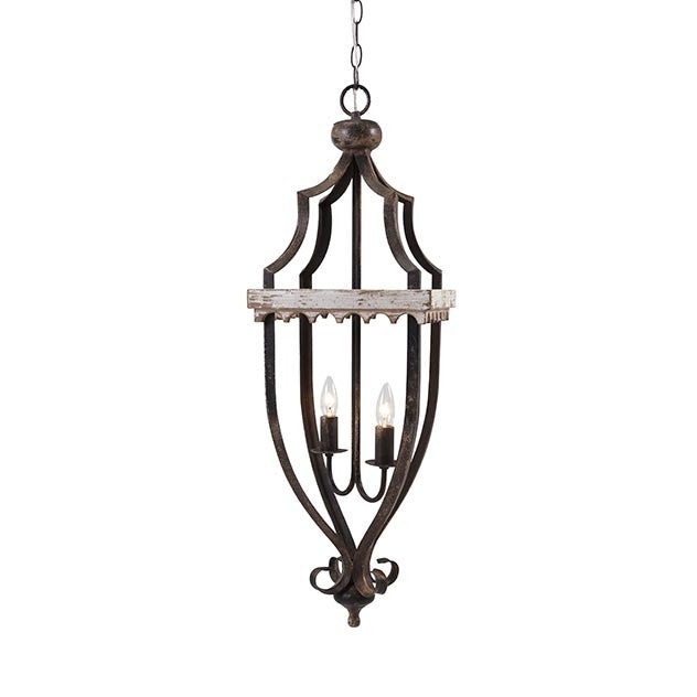 Weathered Lantern Pendant Chandelier - Out of the Woodwork Designs