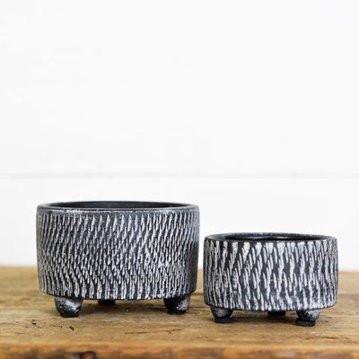 Charcoal Candle Holders- 2 Sizes