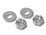Spindle Nuts & Washers (pair)