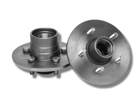 Cast Iron Hubs for Buick Drums (Pair)  With Bearings & Seals
