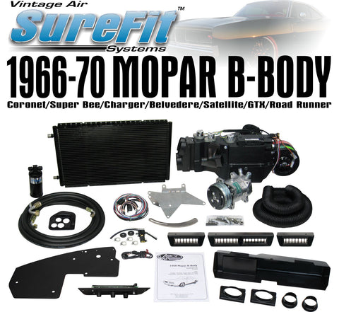 Complete Air Conditioning Kit for 1968 Mopar B Body GENIV with Air