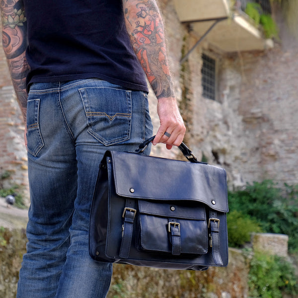 Italian Handmade Leather Briefcase: The Ultimate Style Statement