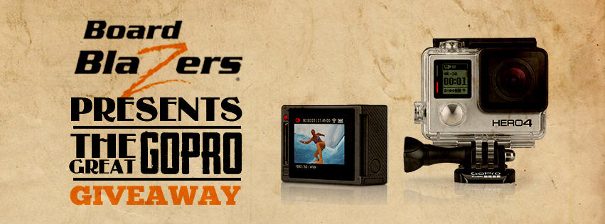 The Great GoPro Giveaway Banner