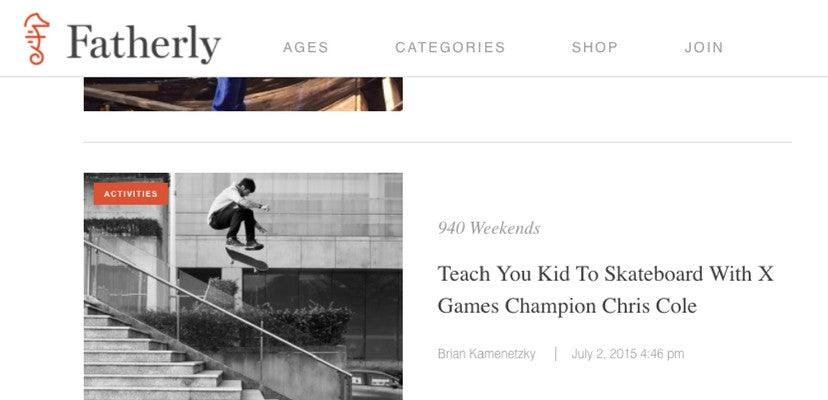 skateboard teacher recommendations on fatherly