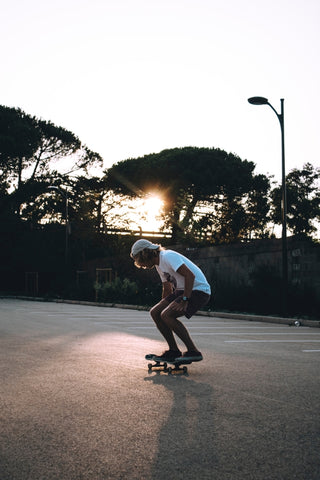 Led skateboard and scooter lights blog board blazers blog all if youd like even more tips and tricks for learning solo read our article how to learn to skateboard by yourself solutioingenieria Images
