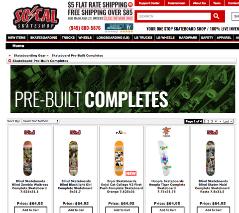 socal skate shop online skateboards for cheap