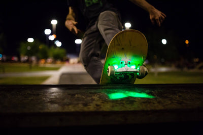 Skateboard LED Underglow Lights Gift Set - Board Blazers