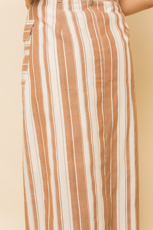 Dahlia Striped Skirt