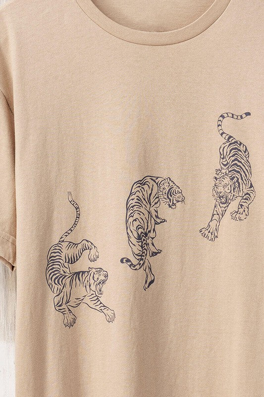 Tilly Tiger Tee- Oversized Graphic T