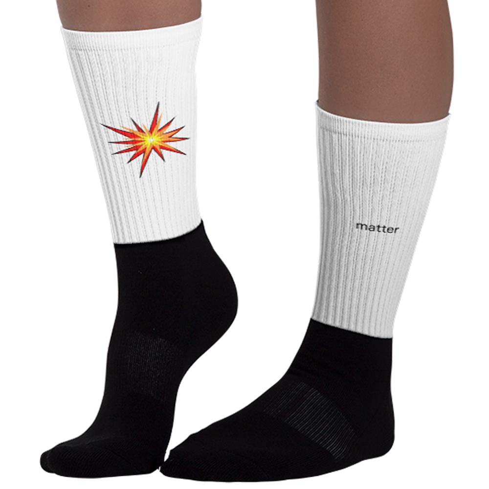 Matter Antimatter Socks