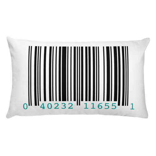 Barcode Pillow