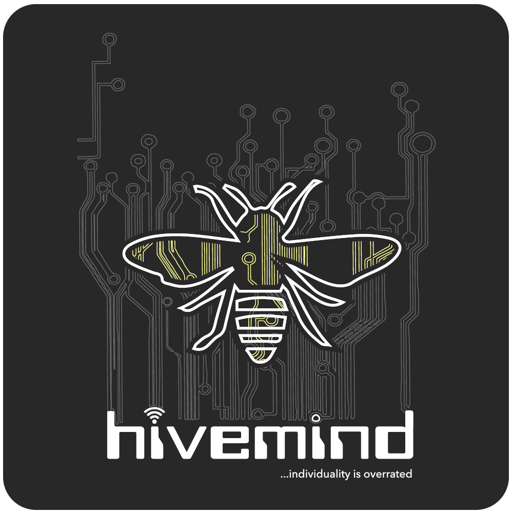 Hive Mind T-Shirt - Black