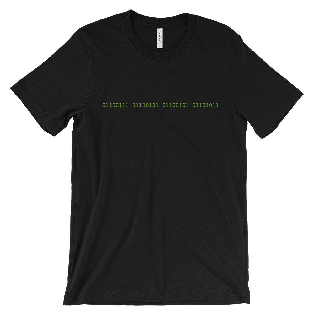 binary code geek shirt