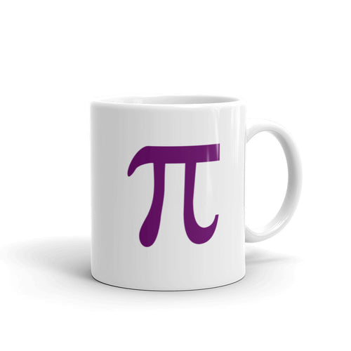 Pi Mug, Purple