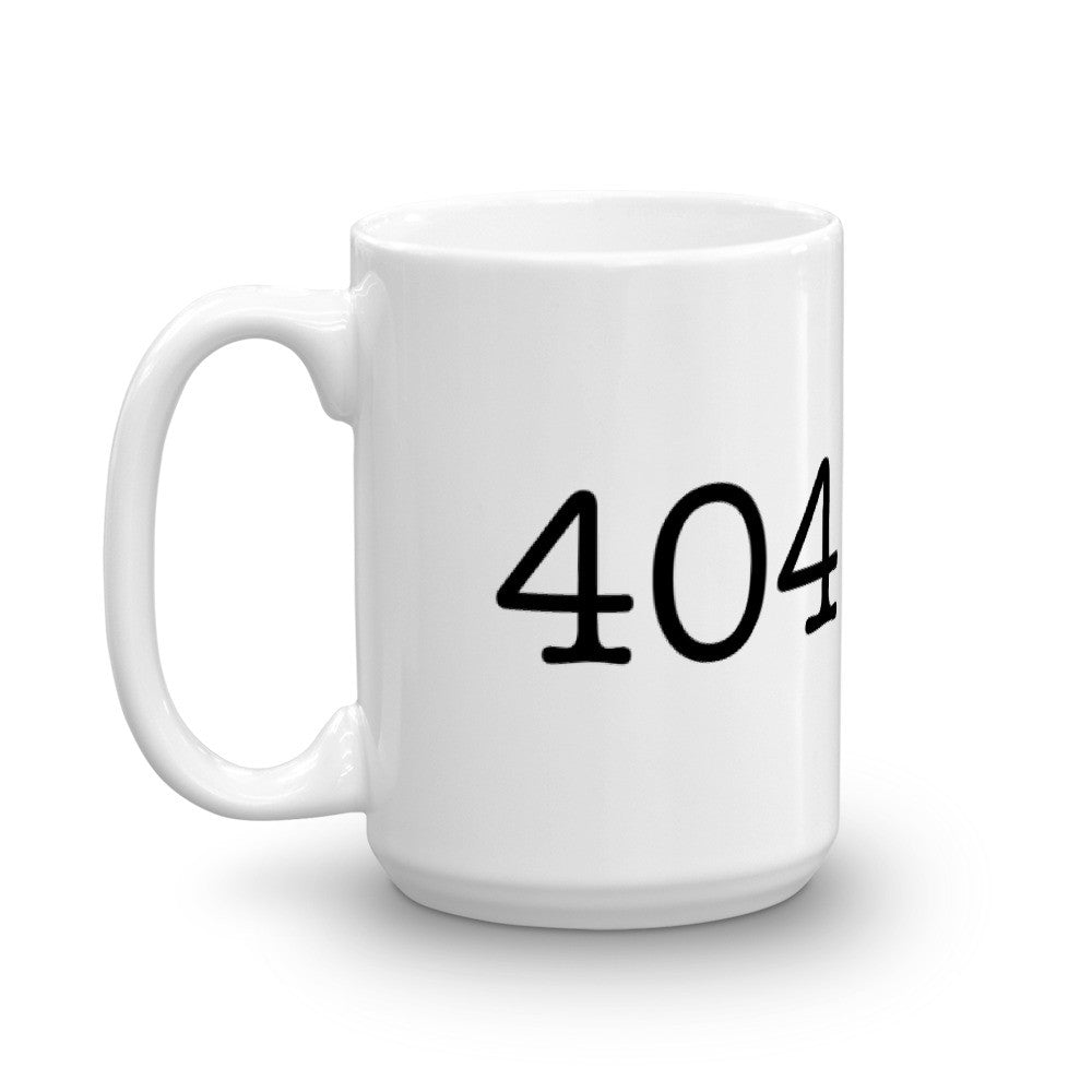 HTTP 404 Sleep Not Found Mug