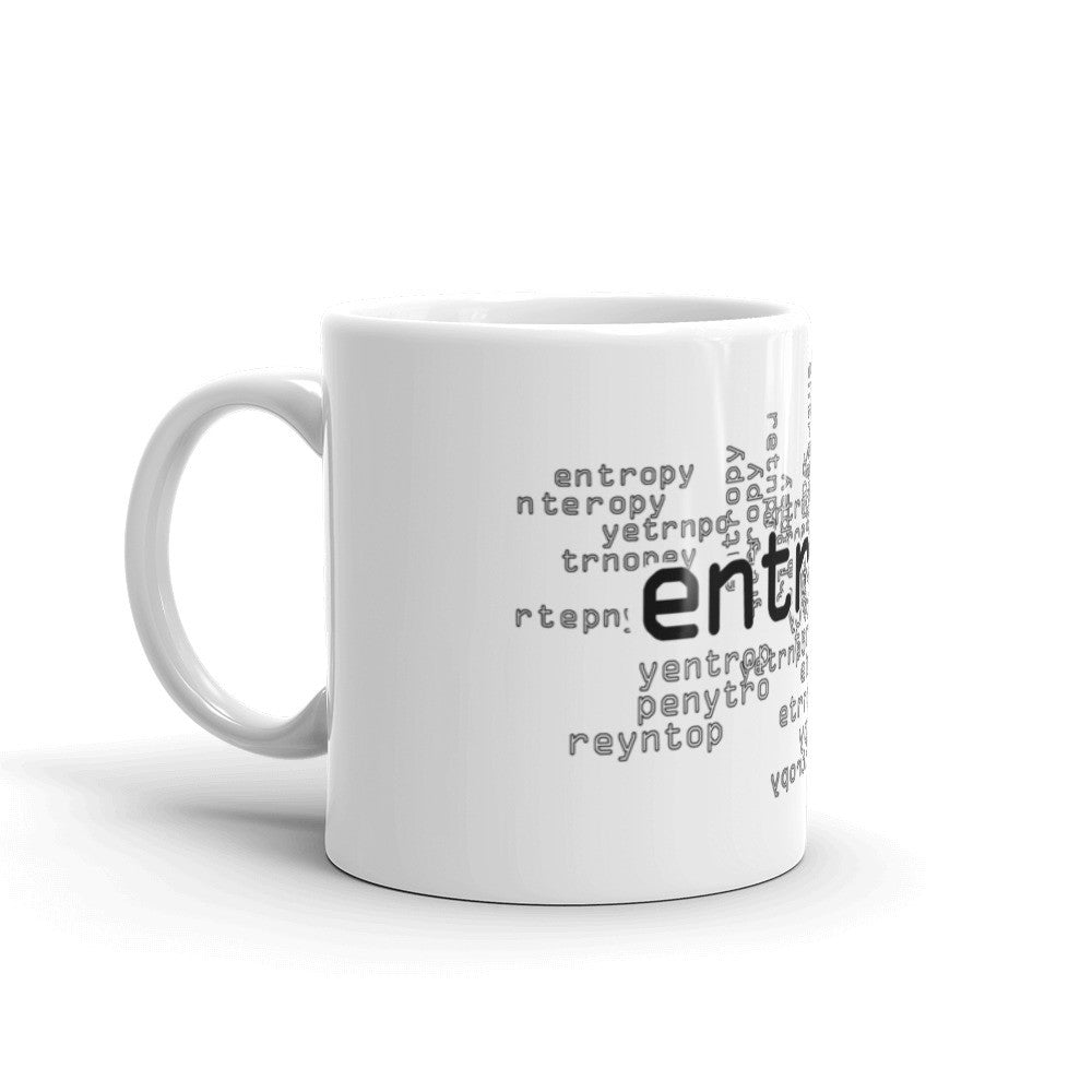 entropy thermodynamics coffee mug