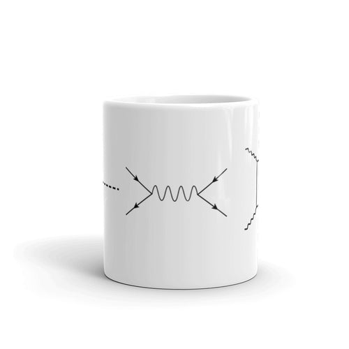 Feynman Diagram Mug
