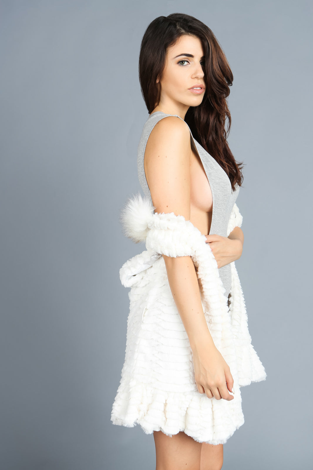 Fall For Faux Fur Vest