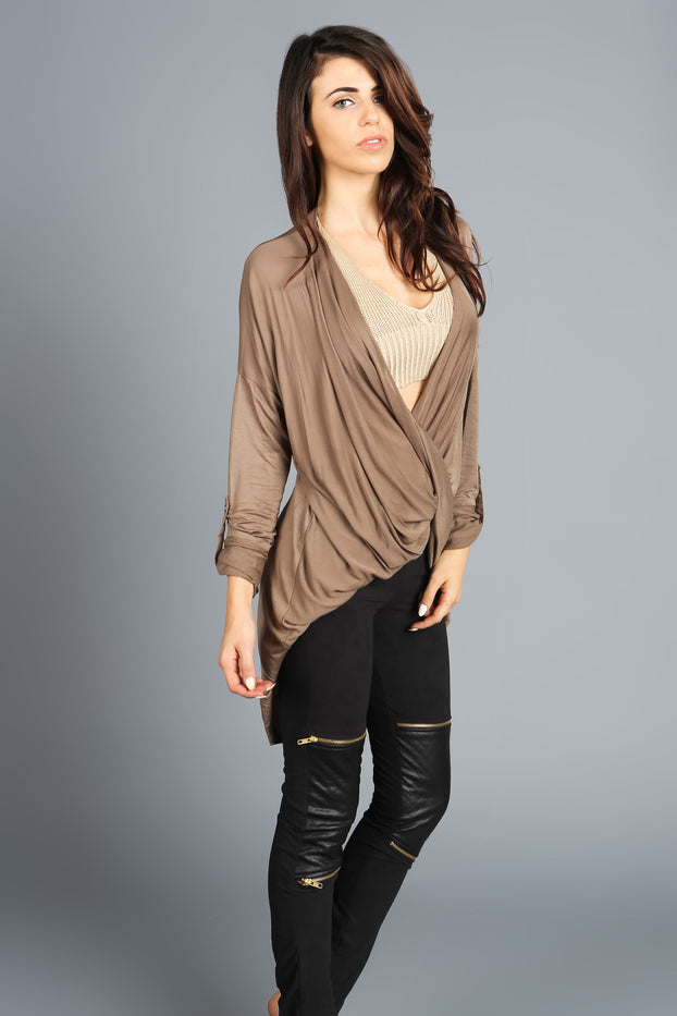 Adriana Asymmetrical Top