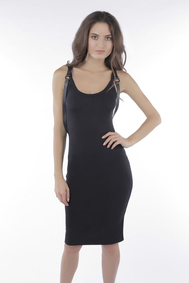 Sen Roxy Black Tank Dress