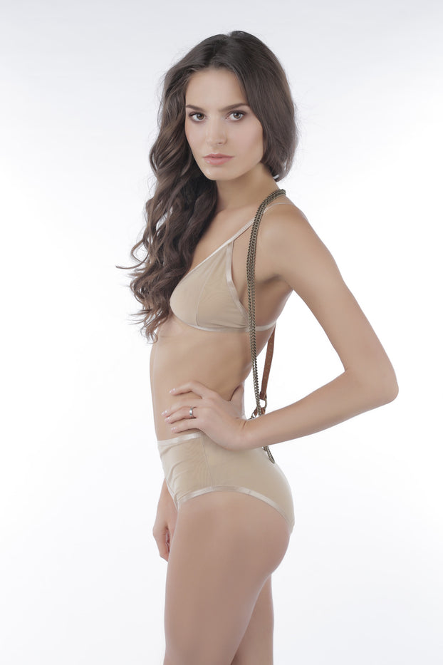 Castles Couture Oracle Bralette Nude