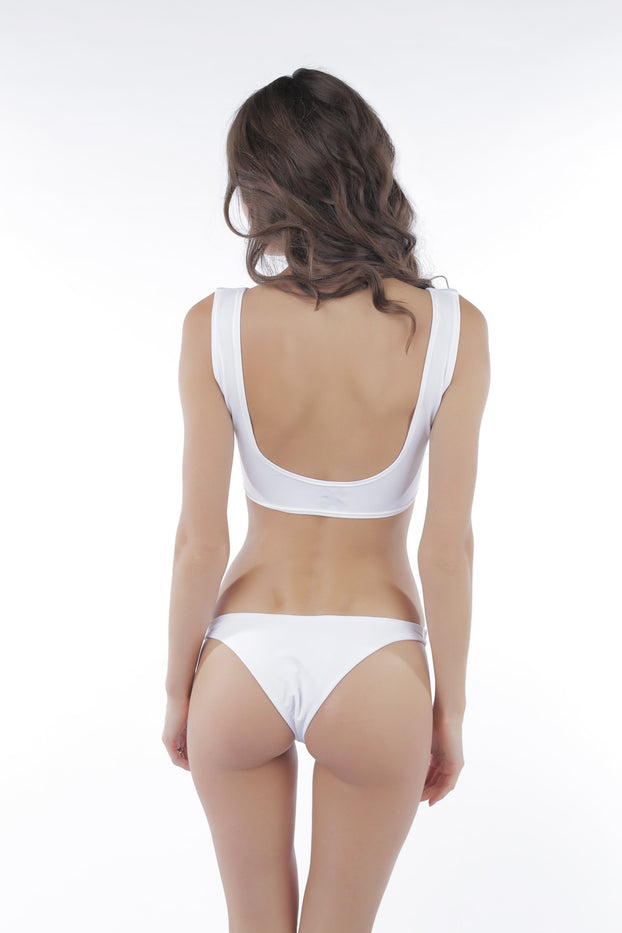 Castles Couture Ramona Bottom White