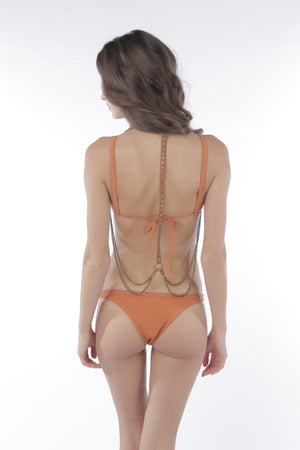 Castles Couture Ramona Bottom Rust Matte