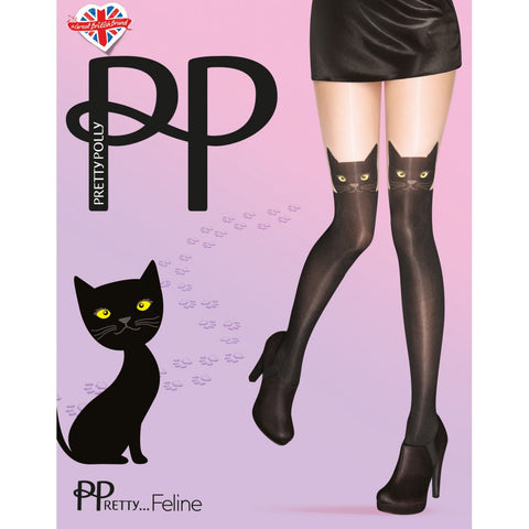 Pretty Polly Feline Cat Tights