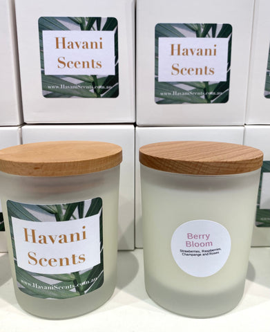 HAVANI SCENTS small candle