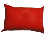 "Red 100% Polyurethane - Pillow Protector - Zippered Style - Set of 2 - ( Standard (20""x26"")"