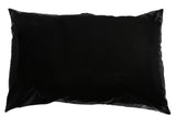 Nuru Pillow protector 2 Pieces of Hidden Zipper polyurethane Pillow Case,  All Sizes , Black