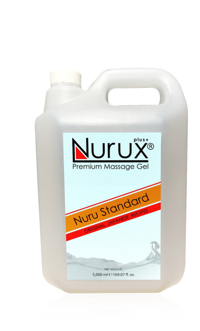 Nuru Massage Gel Made with Natural Ingredients for Relaxing Massage, Great for Clients with Sensitive Skin, Moisturizer Absorbs into Skin Like Lotion, 1 Gallon Bottle
