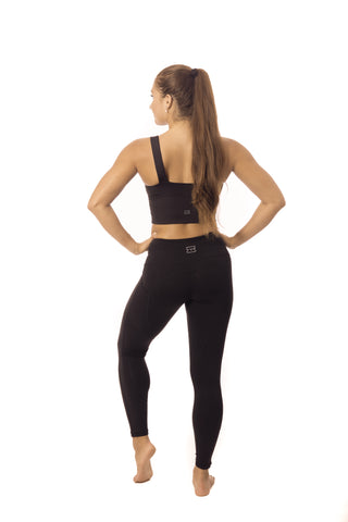 Yoga Valley Fit- Long Black crop