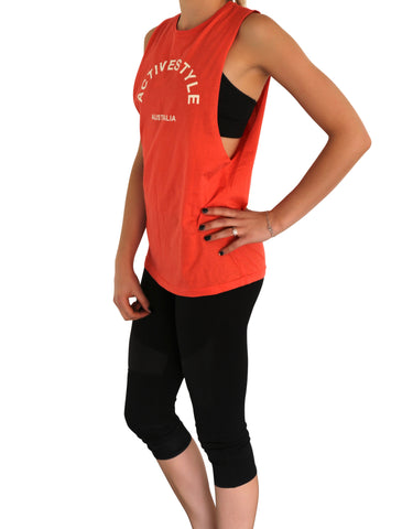 Active Style Tank - Red/Pink - Active Style - 1