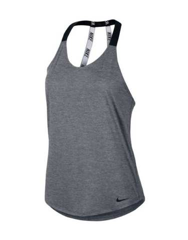 Nike - Breathe Elastika Tank Grey