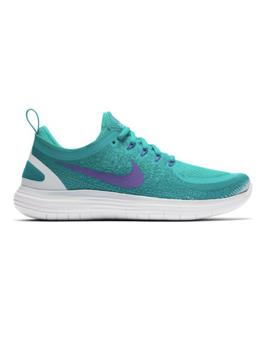Nike Free Run Distance 2 - Aqua / Hyper grape - Active Style