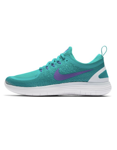 Nike Free Run Distance 2 - Aqua / Hyper grape