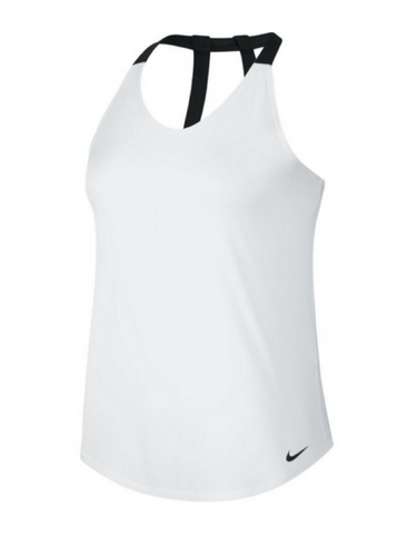Nike - Breathe Elastika Tank Plain White