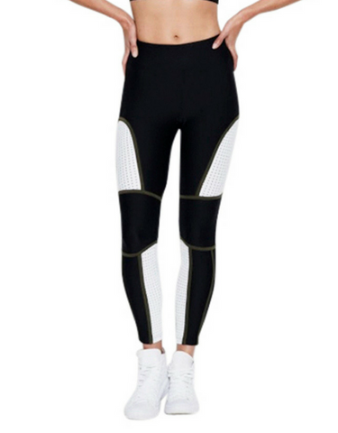 Tully Lou - Oklohoma Legging Black/White