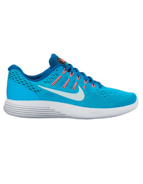 Nike -  LunarGlide 8 Running Shoe Blue - Active Style