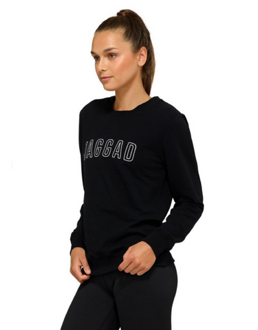 Jaggad Akuro Crew Neck Sweater - Black