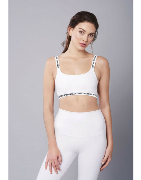 Contrology - The Gabriella Crop White - Active Style