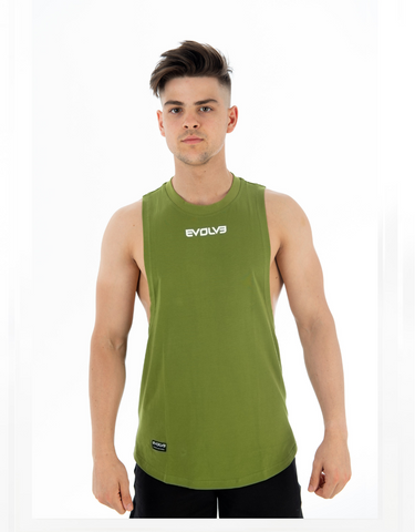 Evolve- Legacy Tank - Forest Green