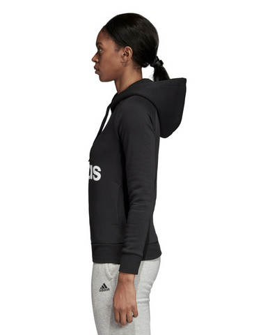 Adidas Essential Linear Fleece Hoodie - Black