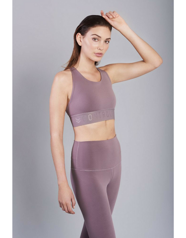 Contrology- The Rocker Crop Twilight Mauve - Active Style