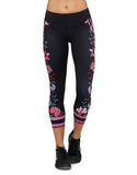 Jaggad Hannah Printed 7/8 Leggings - Jaggad Hannah Printed 7/8 Leggings