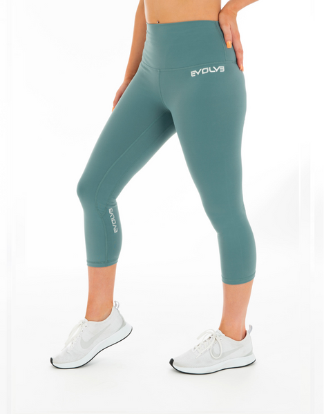 Evolve- 3/4 Core Leggings Mint - Active Style