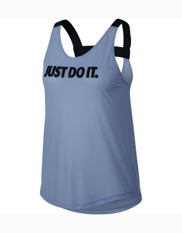 Nike Breathe Training Tank - Royal Tint