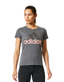 Adidas - Essential Tee Grey - Adidas - Essential Tee Grey